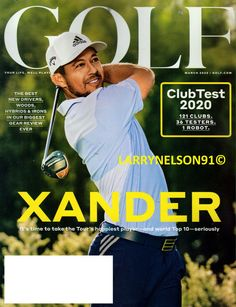 GOLF MAGAZINE MARCH 2020 XANDER CLUB TEST GEAR GUIDE ROBOT DRIVER WOOD HYBRIDS Golf Magazine, New Drivers, Robot, Magazines, Tours, Club, Baseball Cards, Life, Journals