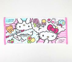 Hello Kitty Hand Towel: Colorful Dream  #hellobaby
