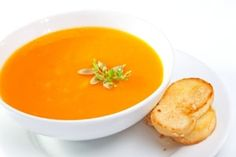 This soup is absolutely delicious and easy to make. I would make it in advance because it is even better the second day!