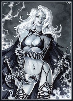 -Lady Death- by Candra.deviantart.com on @deviantART