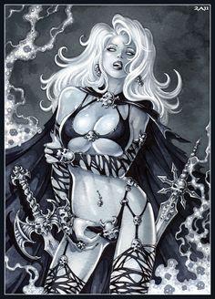 -Lady Death- by Candra.deviantart.com on @deviantART