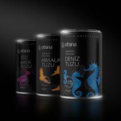 Efsina salt packaging design