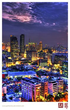 jakarta, indonesia. I don't want to go there but this pic is awesome!