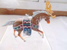 NIB The Trail of Painted Ponies Horse Ornament Reindeer Roundup Westland