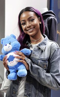 Justine Skye from Party Pics: Global  Before performing for the first time in Paris, the singer celebrates the Boy Meets Girl x Care Bears Collection at Colette.