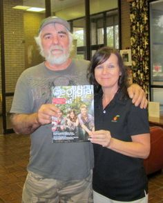 Ben Bowles from Thibodaux, Louisana was the lucky winner of a 2012 Travel Guide signed by Lady Antebellum when he visited the Georgia Visitor Information Center in Kingsland, located on I-95.