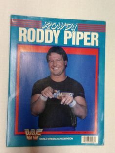 Vintage Authentic Rare WWF WWE Rowdy Roddy Piper by olderthebetter, $10.00