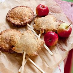 Apple Pie Pops From Better Homes and Gardens, ideas and improvement projects for your home and garden plus recipes and entertaining ideas.
