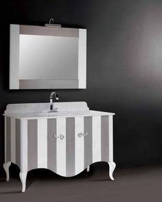 Grada Home Interiors Painted Drawers, Double Vanity, Bathroom, Washroom, Full Bath, Bath, Bathrooms, Double Sink Vanity