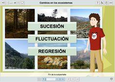 Recurso animado sobre los cambios en los ecosistemas | Educación secundaria. Geografía y Geología