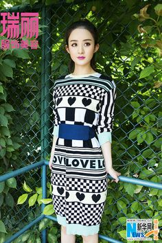 Chinese actress Zhao Liying  http://www.chinaentertainmentnews.com/2015/09/zhao-liying-covers-fashion-magazine.html