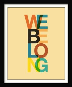 design is mine : isn't it lovely?: THOUGHT OF THE DAY : BELONG.
