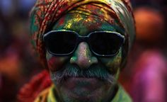 Holi, the ancient Hindu festival of colors, begins this week in India.