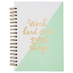Molli & Mimi Hard Cover Spiral Notebook B5 - Mint Peach – Target Australia
