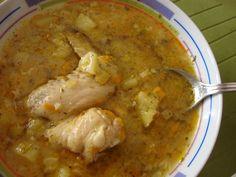 Ciorba de aripioare de pui cu legume - Bucataria cu noroc