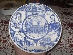 VINTAGE DECORATIVE PLATE COLLECTOR PLATE THE HERMITAGE NASHVILLE TENNESSEE