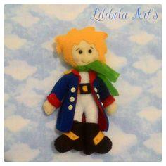 Pequeno Príncipe feltro... Lilibela Art's 😍