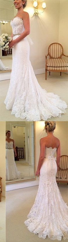 New Arrival A-Line Sexy Wedding Dresses,Long Wedding Dresses,Backless Wedding Dresses