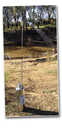 RainMan Camp Shower - a solution in a non-plumbed tiny house. Can place it inside a shower stall to use.