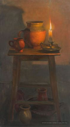 Discover great art by contemporary artist Valeriy Kharchenko. Browse artworks, buy original art or high end prints. Candle Drawing, Dotted Drawings, Candle Art, Still Life Drawing, Art Themes, Light Art, Landscape Paintings, Fine Art America, Art Gallery