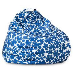 Marimekko for Target Bean Bag - Paprika Print - Blue