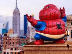 "Is that Peter Porker? Alex Solis's ""Chunky Spider-man"" Resin Figure Coming Soon!"