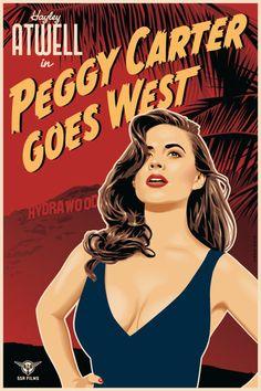 """Peggy Carter Goes West - Deviant Artist """"ratscape"""""""