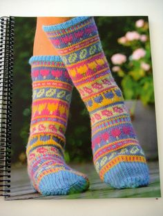 Produktbilde Crochet Socks, Knitting Socks, Hand Knitting, Knitting Patterns, Knit Crochet, Cozy Socks, Boot Cuffs, Leg Warmers, Slippers
