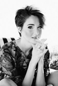 Perfect Pixie, beautiful actress, lovely person.