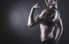While women have a harder time building muscle than men, women bodybuilders still carry impressive amounts of mass and have low levels of body fat. Should you decide to throw yourself into female bodybuilding, make sure your diet is up to scratch to help Sport Motivation, Fitness Motivation, Fitness Diet, Muscle Fitness, Female Fitness, Female Muscle, Fitness Models, Female Biceps, Fitness Man