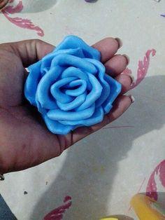 Rosa azul claro