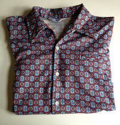 1970s Men's Short Sleeve Shirt by BarbeeVintage on Etsy, $14.00