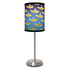 The Beatles YL Submarine Lamp now featured on Fab.