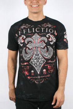 Affliction Men's Panoramic Short Sleeve Crewneck « Clothing Impulse