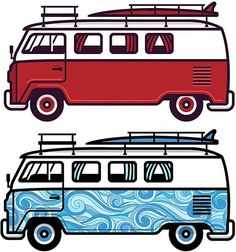 SURFING STICKERS 1 pack of 10 stickers