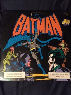 1975 Batman Story Record (Front)