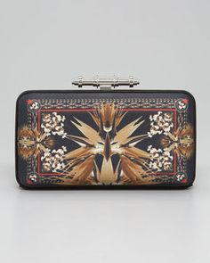 Givenchy Obsedia Paradise Flower-Print Minaudiere