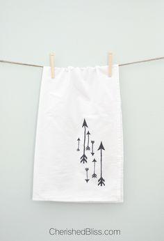 DIY Tea Towels simple tutorial