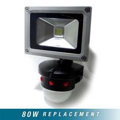 10W Motion Sensor LED Floodlight
