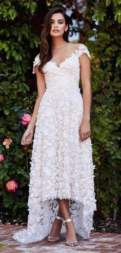 Courtesy of Tadashi Shoji wedding dresses