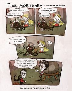 Wendy and Webber's idea of playtime is a little... strange (Don't Starve)