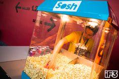 #Sosh Offre ces Pop corn tout au long du iF3 Annecy.
