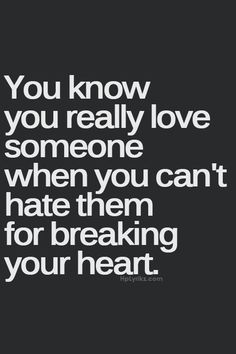 No matter who you are this will happen it will come unexpectedly you just have to remember they the person that broke your heart did YOU a favor in so many ways
