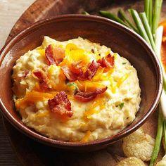 Bacon-Cheddar Potato Dip