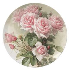 Shabby Chic Pink Victorian Roses