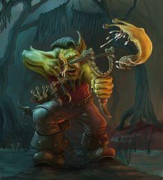 Goblin Slugthrower by Elderscroller on DeviantArt