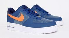 Nike Air Force 1 Denim - Blue