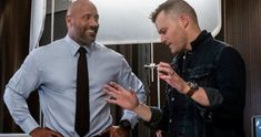 Rawson Marshall Thurber goes inside his first big-budget action film, working with Dwayne Johnson, and their next collaboration, Red Notice. Action Film, Dwayne Johnson, The Rock, Burns, Skyscraper, Interview, Collaboration, Buildings, Movies
