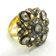 Magicalcollection Amazing 925 Silver Ring Jewelry With Fine Black Oxidization #Magicalcollection