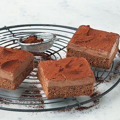 Ein Traum von Kuchen und völlig ohne Stress gebacken. Die Schokosahne muss 4 Stunden kühlen, so dass man sie und sogar auch den Teig gut am Vortag zub...
